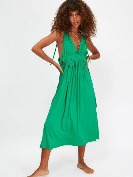 Платье - зеленое Trendyol