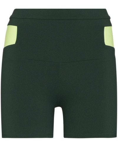 Нейлоновые шорты - зеленые Live The Process