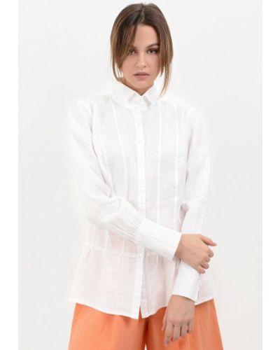 Блузка белая осенняя Lino Russo