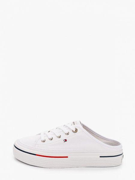 Кроссовки белый низкие Tommy Hilfiger