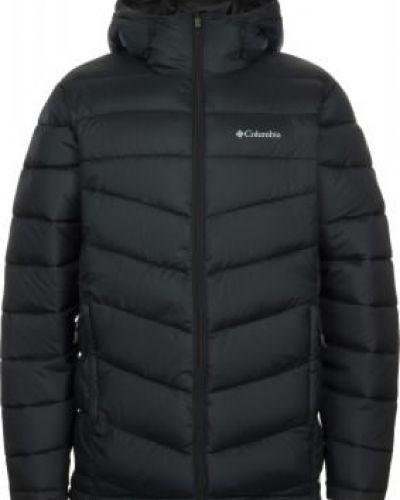 Черная утепленная куртка на молнии Columbia