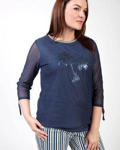 Синий пуловер Thomas Rabe