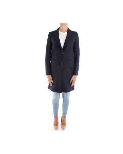Niebieski płaszcz przeciwdeszczowy Tommy Hilfiger