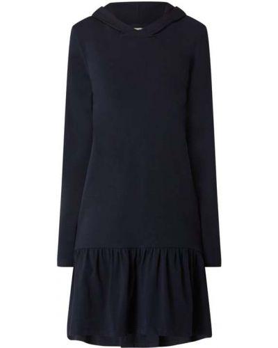 Sukienka rozkloszowana z falbanami z długimi rękawami Kaffe