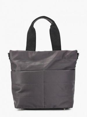 Текстильная сумка - серая Keddo