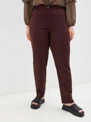 Прямые брюки - коричневые Averi