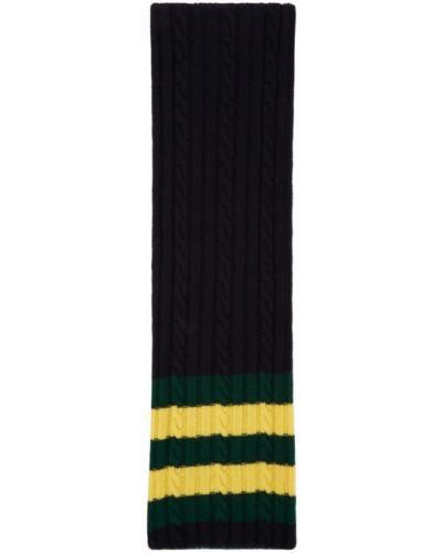 Зеленый шерстяной шарф двусторонний Beams Plus