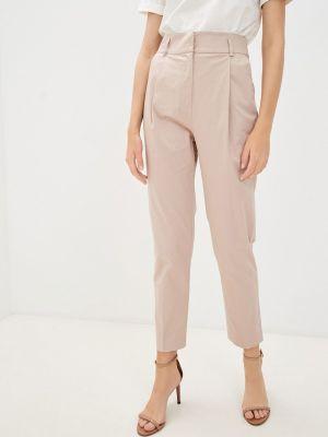 Розовые брюки осенние Lusio