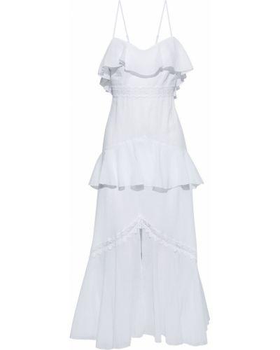 Хлопковое платье макси - белое Charo Ruiz Ibiza