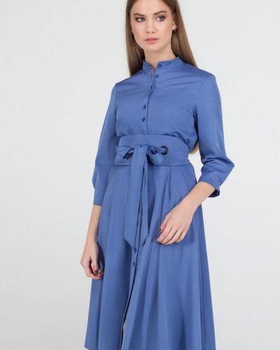Платье миди - голубое Viravi Wear