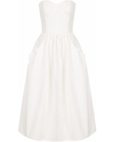 Платье миди приталенное хлопковое Ralph Lauren