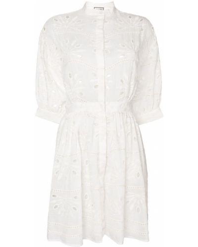 Платье платье-рубашка с вышивкой Paul & Joe