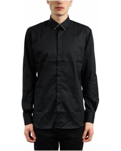 Czarny smoking z długimi rękawami zapinane na guziki Karl Lagerfeld