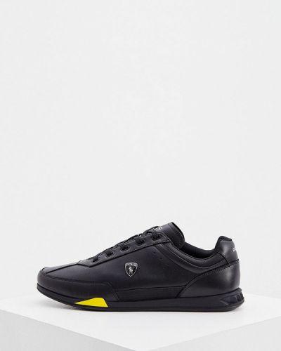 Кожаные кроссовки - черные Polo Ralph Lauren
