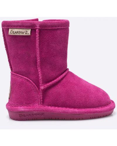 Ботинки теплые на каблуке Bearpaw