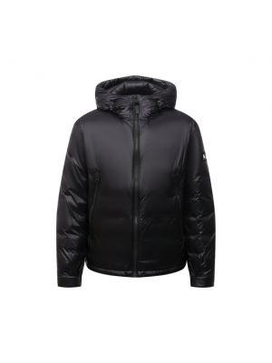 Черная куртка с перьями Mackage