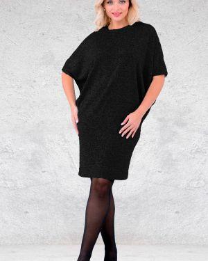 Платье миди теплое трикотажное Mari-line