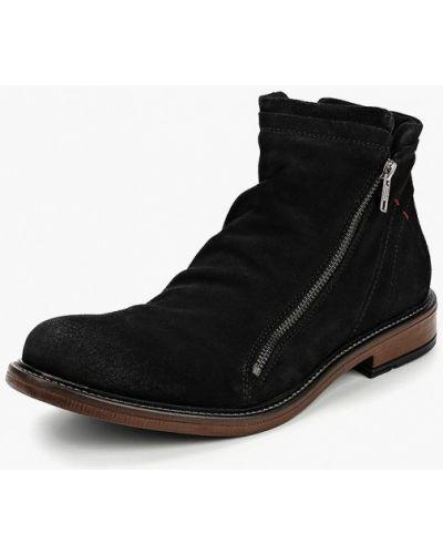 Ботинки осенние высокие замшевые Nobrand