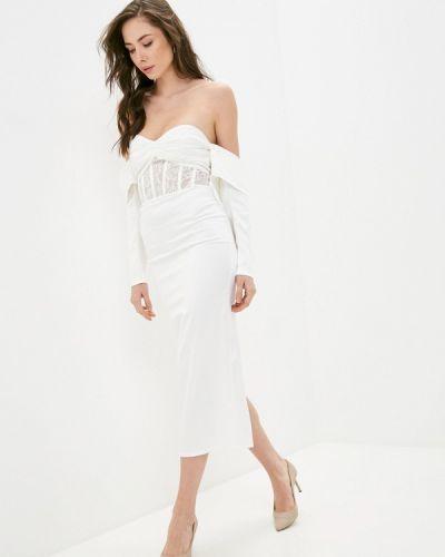 Брендовое белое свадебное платье Lipinskaya Brand