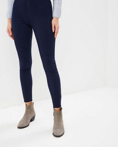 Синие брюки утепленные Befree