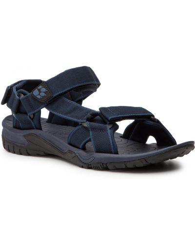Sandały casual - niebieskie Jack Wolfskin
