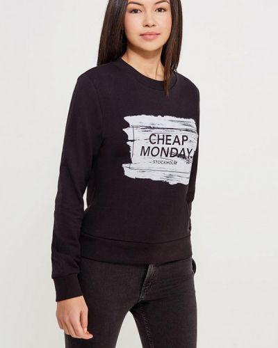 Черный свитшот Cheap Monday