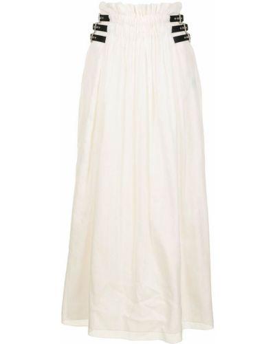 Spódnica midi bawełniana z klamrą Gabriela Hearst