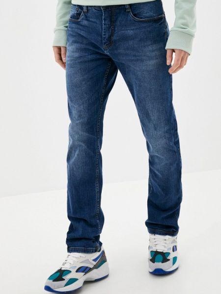 Синие прямые джинсы с жемчугом Sublevel