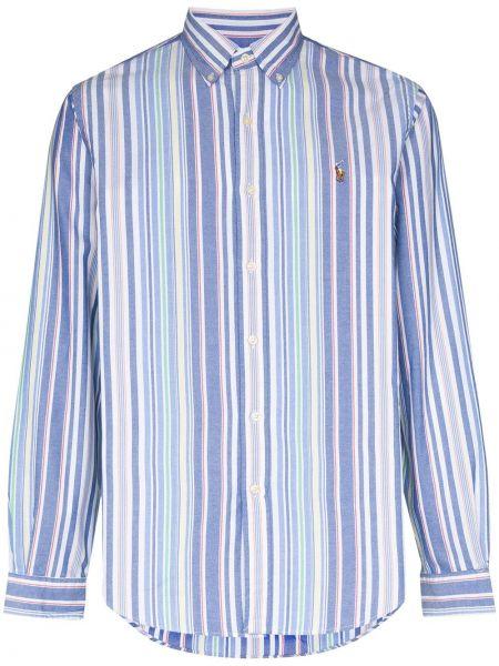 Koszula z długim rękawem Oxford z paskami Polo Ralph Lauren