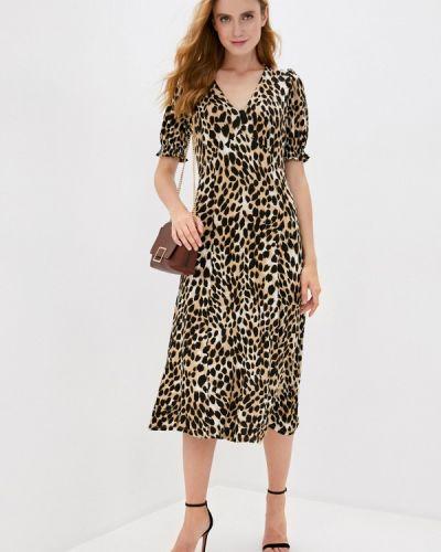 Повседневное коричневое платье Wallis