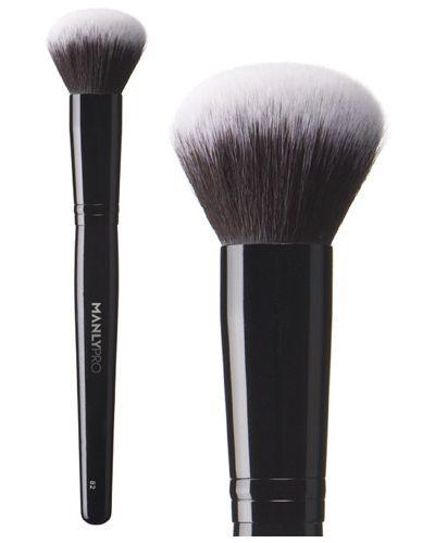 Кисть для макияжа для тона для румян Manly Pro