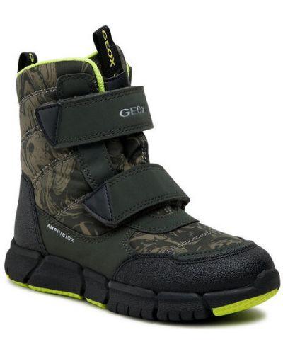 Zielone sneakersy Geox