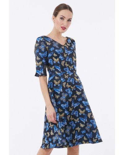 Синее платье Vladi Collection