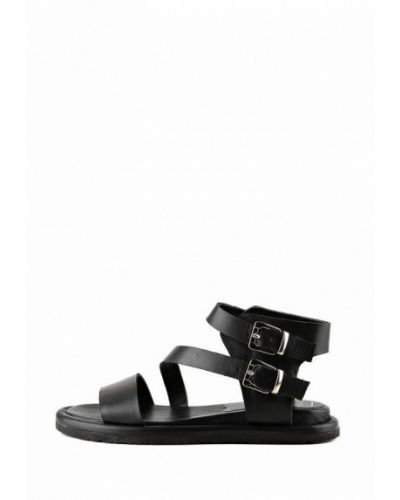Кожаные сандалии - черные Ilvi