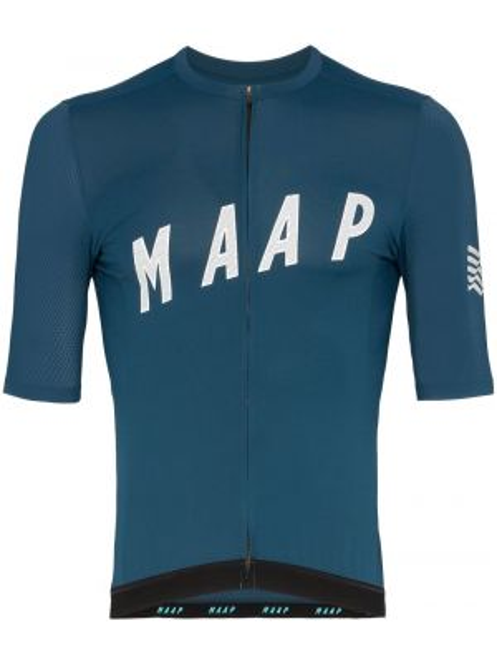 Синяя базовая спортивная футболка Maap