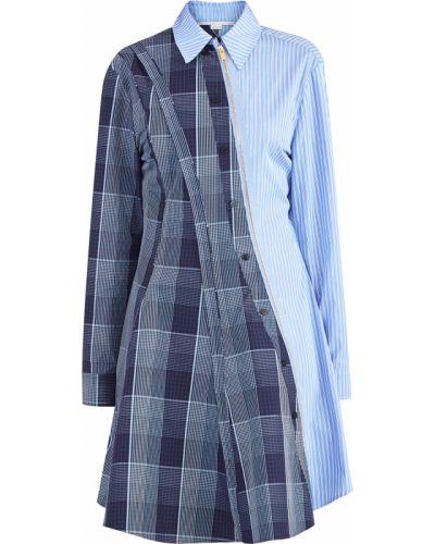 Платье рубашка - голубое Stella Mccartney