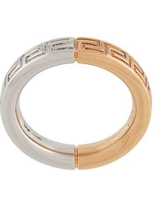 Złoty pierścionek Versace