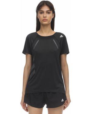 Рубашка в полоску с рукавом реглан Adidas Performance