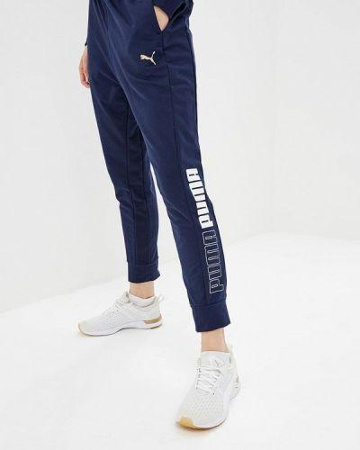 Синие спортивные брюки Puma