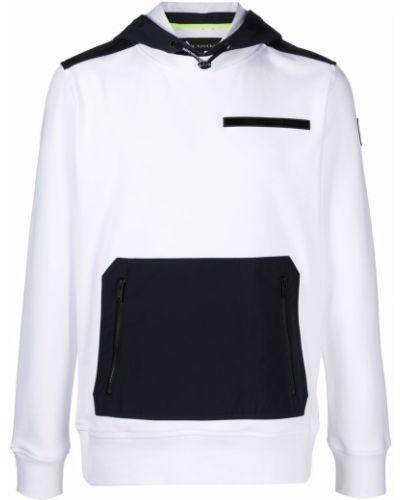 Biała klasyczna bluza Moose Knuckles