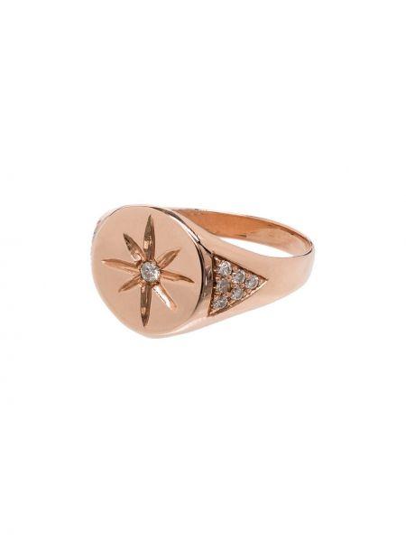 Кольцо золотое с бриллиантом Jacquie Aiche