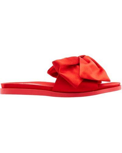 Красные сандалии с бантом Simone Rocha