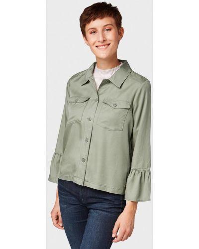 Блузка с длинным рукавом осенняя Tom Tailor Denim