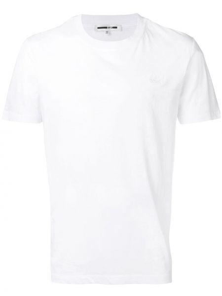 Koszula krótkie z krótkim rękawem prosto z wzorem Mcq Alexander Mcqueen