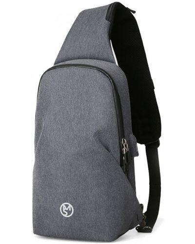 Деловой рюкзак - серый Rozetka