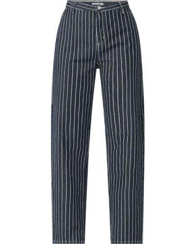 Spodnie bawełniane - niebieskie Carhartt Work In Progress
