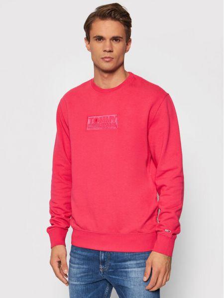 Bluza - różowa Tommy Jeans