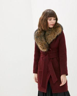 Пальто демисезонное бордовый Karolina