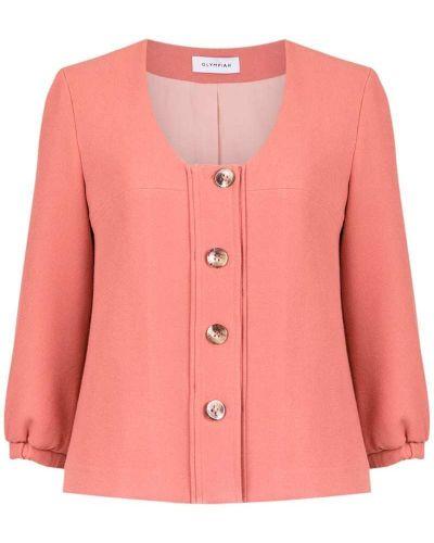 Розовая куртка Olympiah