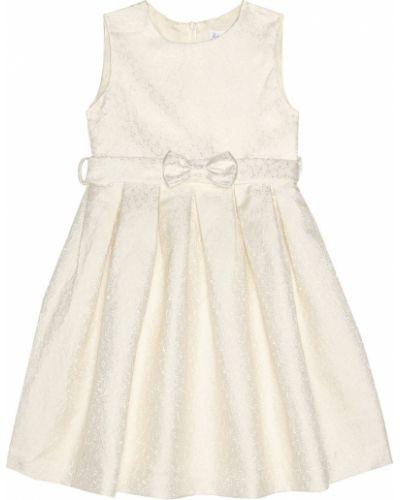 Biała sukienka mini elegancka Rachel Riley